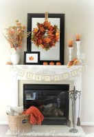 Wonderful Fireplace Makeover Ideas For Fall Home Décor28