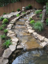 Casual Backyard Ponds Design Ideas For Garden To Try Asap04