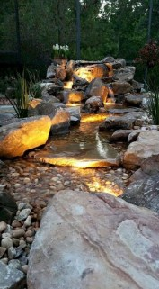 Casual Backyard Ponds Design Ideas For Garden To Try Asap07