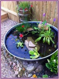 Casual Backyard Ponds Design Ideas For Garden To Try Asap29