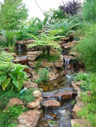 Casual Backyard Ponds Design Ideas For Garden To Try Asap31