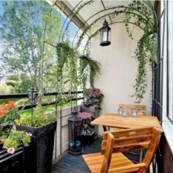 Charming Balcony Design Ideas For Summer21