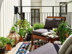 Charming Balcony Design Ideas For Summer26