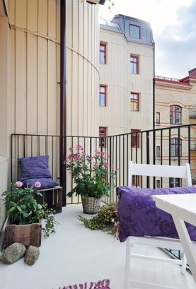 Charming Balcony Design Ideas For Summer33