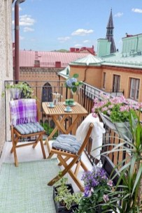 Charming Balcony Design Ideas For Summer38