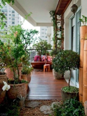 Charming Balcony Design Ideas For Summer40