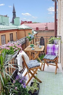 Charming Balcony Design Ideas For Summer41