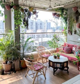 Charming Balcony Design Ideas For Summer44