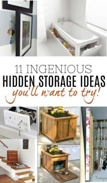Cool Hidden Storage Design Ideas For Small Spaces To Try17