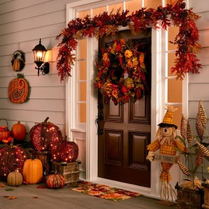 Elegant Diy Thanksgiving Design Ideas For Outdoor Decorations37