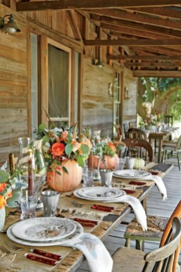 Elegant Diy Thanksgiving Design Ideas For Outdoor Decorations41