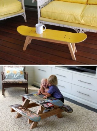 Extraordinary Old Furniture Ideas To Beautify The Decor31