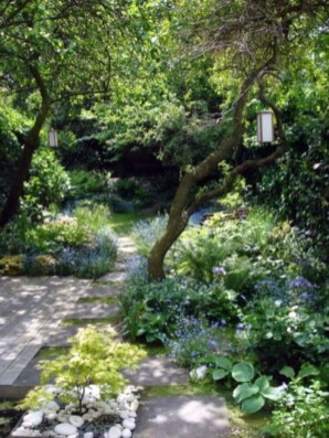 Modern Shade Front Yard Design Ideas For Summer03