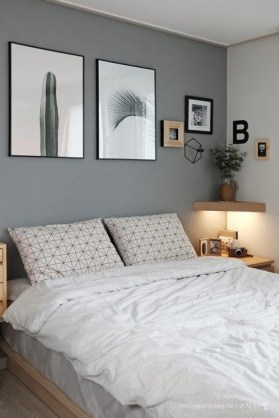 Modern Small Bedroom Design Ideas That Are Look Stylishly Space Saving23