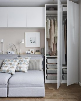 Modern Small Bedroom Design Ideas That Are Look Stylishly Space Saving37