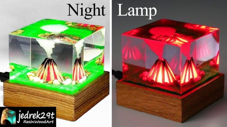 Splendid Diy Night Lamp Ideas To Try Right Now36
