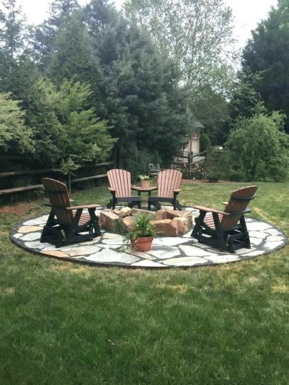 Superb Diy Fire Pit Ideas To Try In The Backyard06