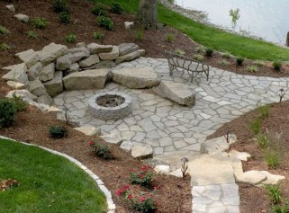 Superb Diy Fire Pit Ideas To Try In The Backyard20