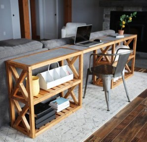 Unusual Diy Console Table Design Ideas To Try This Year09