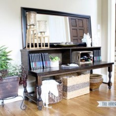 Unusual Diy Console Table Design Ideas To Try This Year29