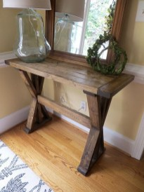 Unusual Diy Console Table Design Ideas To Try This Year35