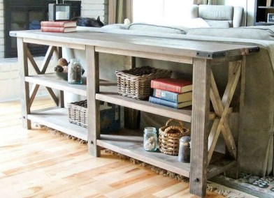 Unusual Diy Console Table Design Ideas To Try This Year38