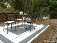 Unusual Painted Rug Design Ideas For Relaxing Screened Porch20
