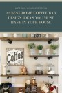 35 Best Home Coffee Bar Design Ideas You Must Have In Your House