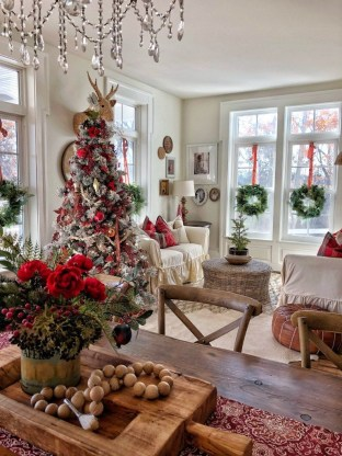 Adorable Christmas Home Design Ideas To Fun Up Your Home09