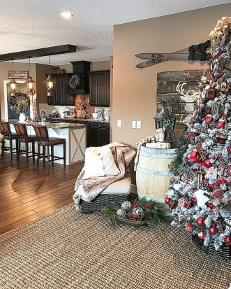 Adorable Christmas Home Design Ideas To Fun Up Your Home15