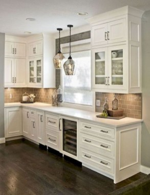 Affordable Kitchen Cabinet Design Ideas That Make Your Kitchen Looks Neat17