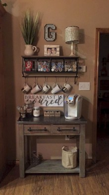 Best Home Coffee Bar Design Ideas You Must Have In Your House17