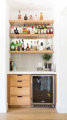 Best Home Coffee Bar Design Ideas You Must Have In Your House18