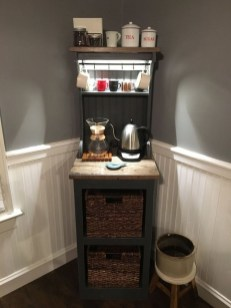 Best Home Coffee Bar Design Ideas You Must Have In Your House30