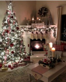 Extraordinary Christmas Living Room Decoration Ideas To Try Asap10