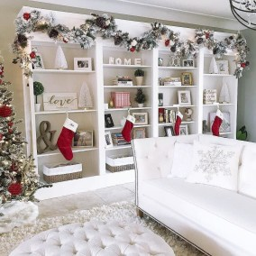 Extraordinary Christmas Living Room Decoration Ideas To Try Asap14