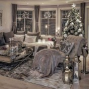 Extraordinary Christmas Living Room Decoration Ideas To Try Asap22