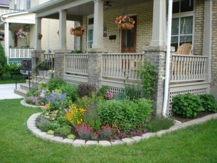 Fascinating Front Yard Landscaping Design Ideas To Try Right Now06