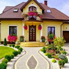 Fascinating Front Yard Landscaping Design Ideas To Try Right Now23