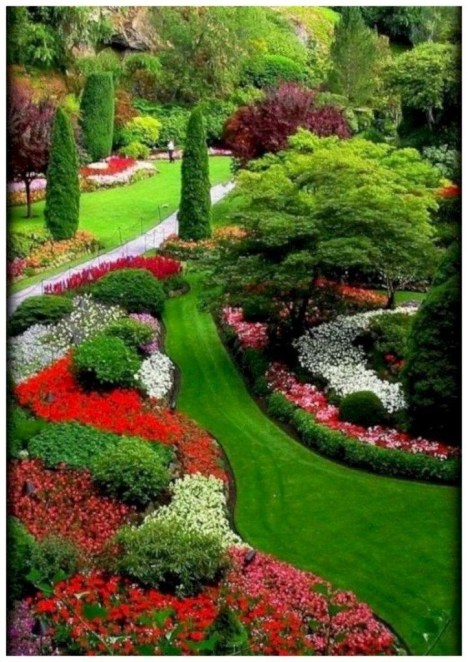 Fascinating Front Yard Landscaping Design Ideas To Try Right Now37