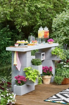 Latest Home Garden Design Ideas With Cinder Block To Try05