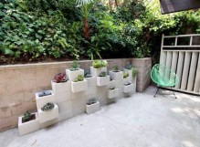Latest Home Garden Design Ideas With Cinder Block To Try07