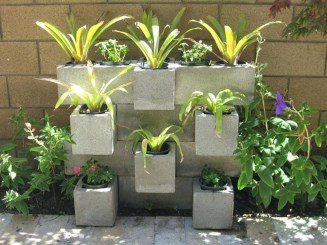 Latest Home Garden Design Ideas With Cinder Block To Try15