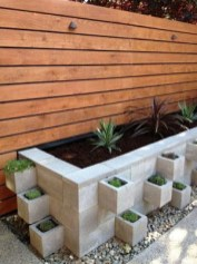 Latest Home Garden Design Ideas With Cinder Block To Try23