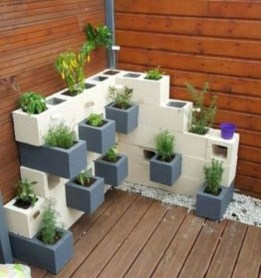 Latest Home Garden Design Ideas With Cinder Block To Try24