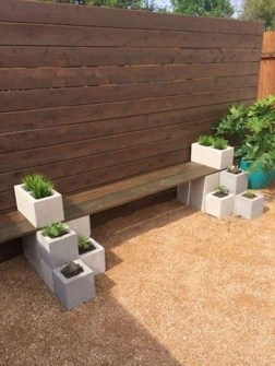 Latest Home Garden Design Ideas With Cinder Block To Try28