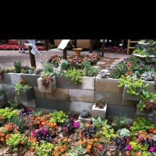 Latest Home Garden Design Ideas With Cinder Block To Try35