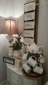 Newest Rae Dunn Display Design Ideas To Make Beautiful Decor In Your Home23