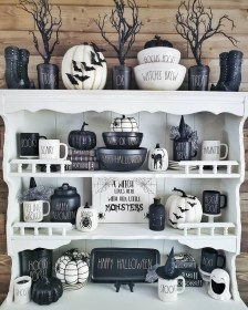 Newest Rae Dunn Display Design Ideas To Make Beautiful Decor In Your Home29