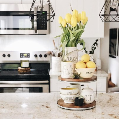 Newest Rae Dunn Display Design Ideas To Make Beautiful Decor In Your Home40